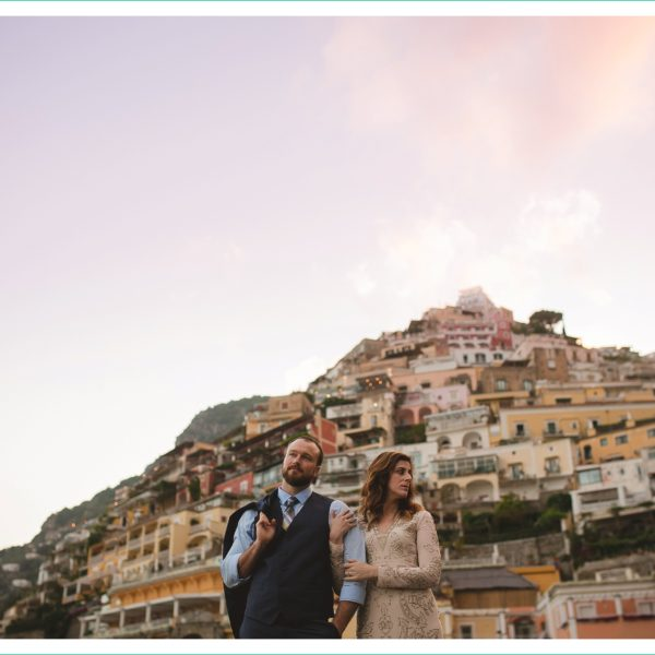 Andrea and Scott // Positano Elopement Photographer