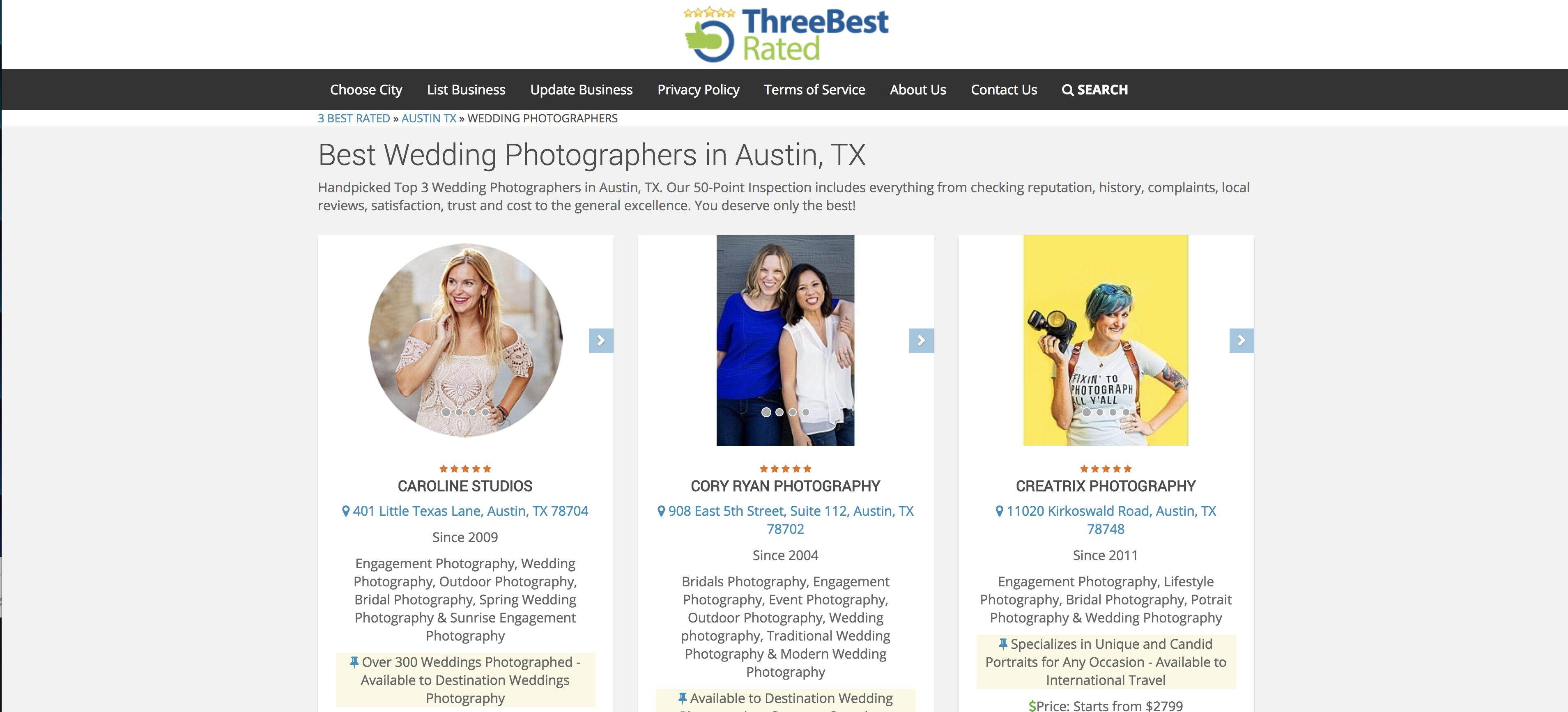 Top photographer in Austin?!