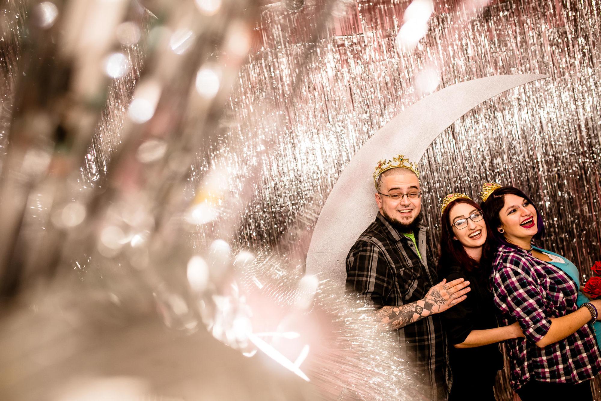 polyamorous wedding photographer