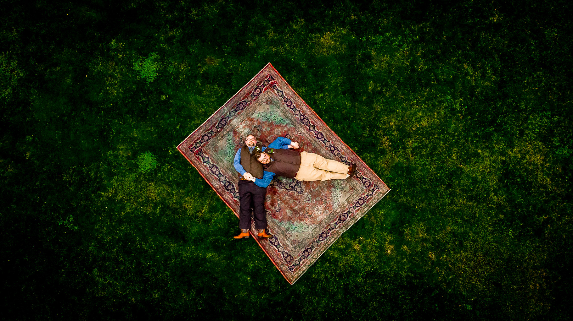 Wedding at Thurman's Mansion