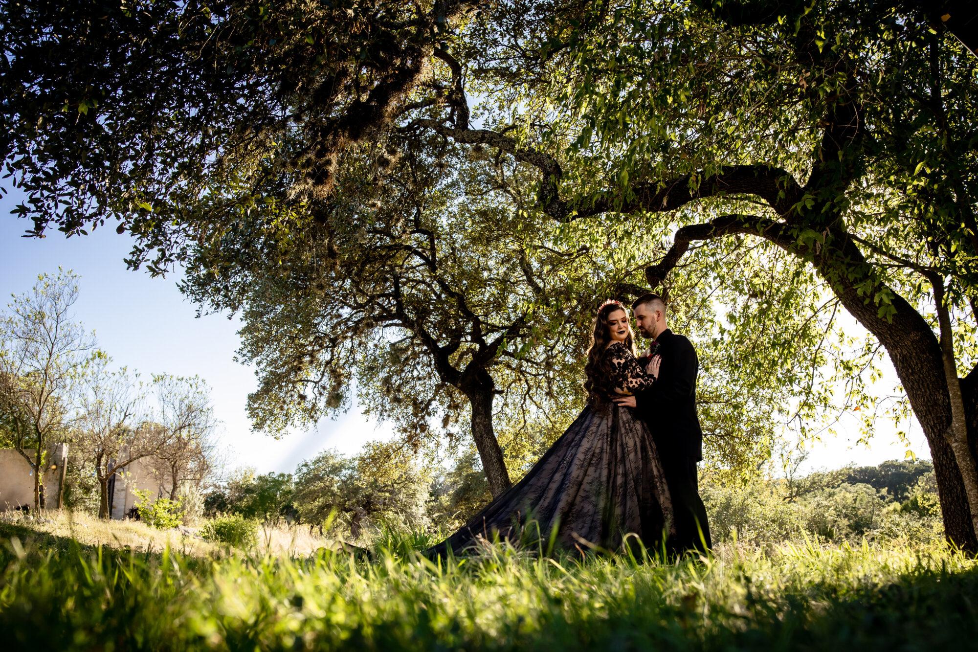 Gothic Halloween Wedding